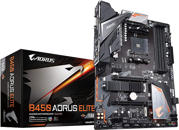 Gigabyte B450 AORUS Elite AMD AM4 ATX Motherboard