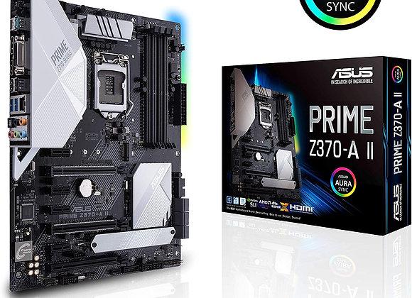 ASUS Prime Z370-A II (Intel 9th Gen) DDR4 DP HDMI DVI M.2 USB 3.1 Z370 II ATX