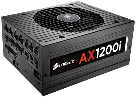 Corsair AX1200i 1200 Watt 80 Plus Platinum ATX Fully Modular Power Supply