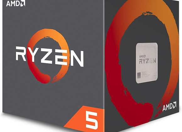 AMD Ryzen 5 1600 6-Core, 12-Thread Unlocked 65W Desktop Processor with Wraith