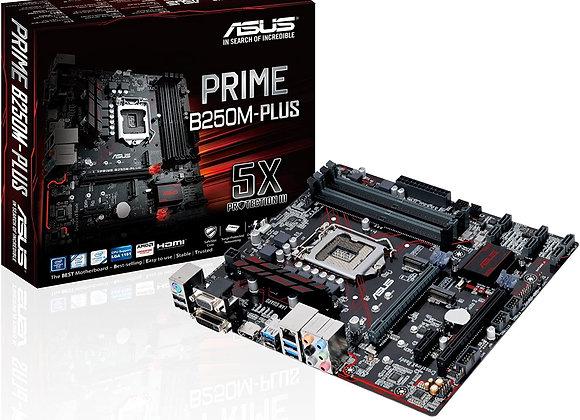 ASUS Prime B250M-Plus LGA1151 DDR4 HDMI DVI VGA M.2 USB3.1 B250 mATX Motherboard