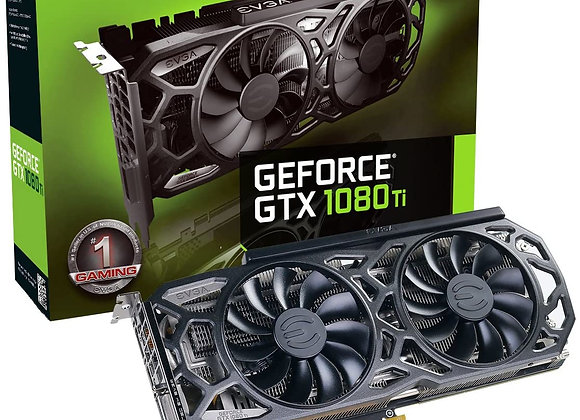 EVGA GeForce GTX 1080 Ti SC Black Edition Gaming, 11GB GDDR5X, iCX Cooler & LED