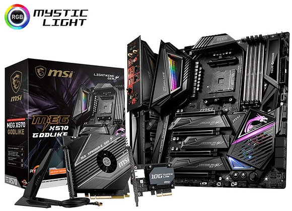 MSI X570 MEG Godlike AMD AM4 eATX Motherboard
