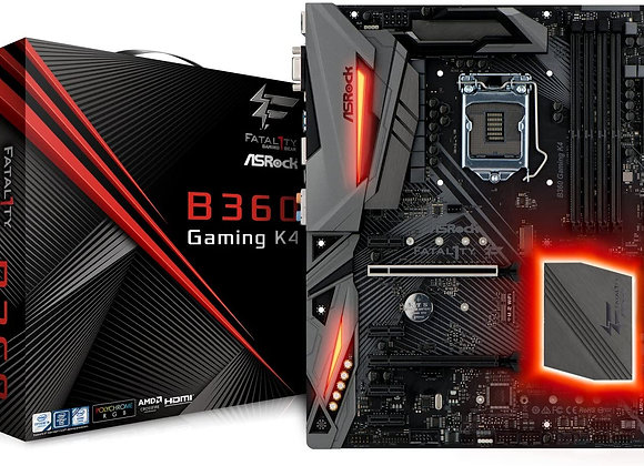 ASRock B360 Gaming K4 LGA1151/Intel B360/DDR4/Quad CrossFireX/SATA3 Motherboard