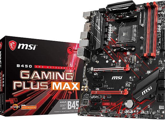 MSI B450 Gaming Plus MAX AMD AM4 ATX Motherboard
