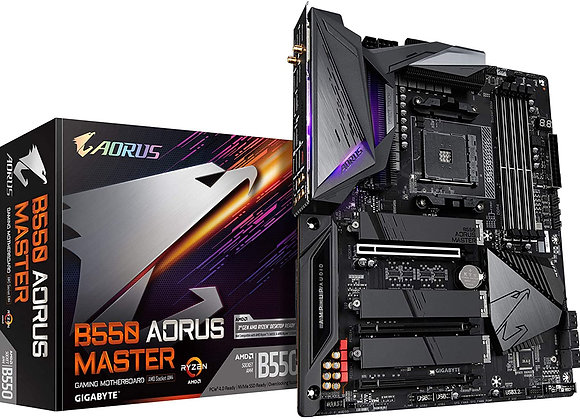 Gigabyte B550 Aorus Master AMD AM4 ATX Motherboard