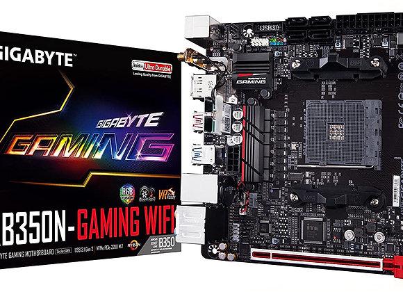 Gigabyte GA-AB350N-Gaming Wifi AMD/Ryzen AM4/B350/RGB Fusion/HDMI/DP Motherboard