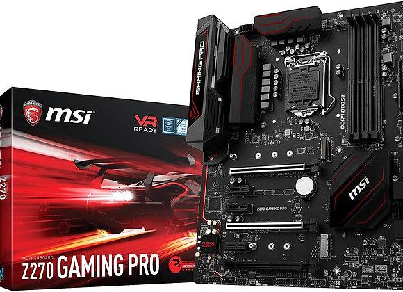 MSI Performance Gaming Intel Z270 DDR4 HDMI USB 3 SLI ATX Motherboard