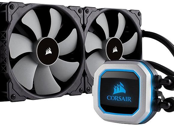 Corsair Hydro Series H150i PRO RGB AIO Liquid CPU Cooler, 360mm Radiator