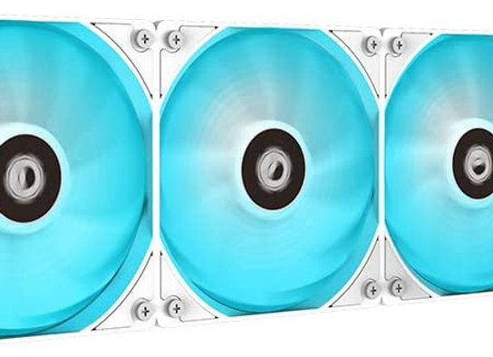 ID-COOLING Auraflow X 360 Snow CPU Water Cooler RGB AIO Cooler 360mm