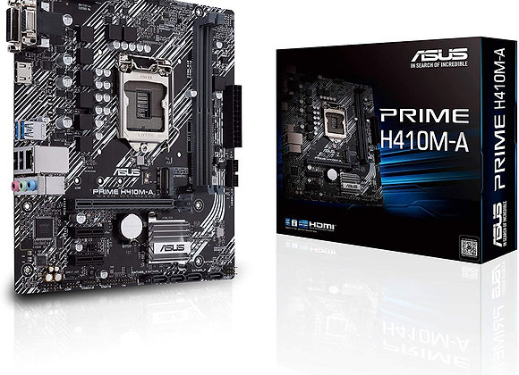 Asus Prime H410M-A/CSM LGA1200 (Intel 10th Gen) Micro-Atx Commercial Motherboard
