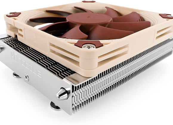 Noctua NH-L9a-AM4, Premium Low-Profile CPU Cooler for AMD AM4 (Brown)
