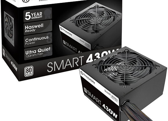 Thermaltake Smart 430W 80+ White Continuous Power ATX 12V V2.3/EPS 12V