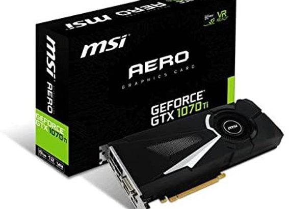 MSI Aero GeForce GTX 1070 Ti Single-Fan 8GB GDDR5 PCIe Video Card