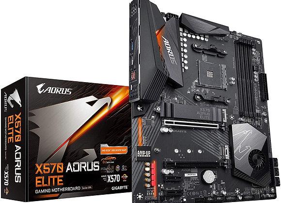 Gigabyte X570 Aorus Elite (AMD Ryzen 3000/X570/ATX/PCIe4.0/DDR4/USB3.1/Realtek