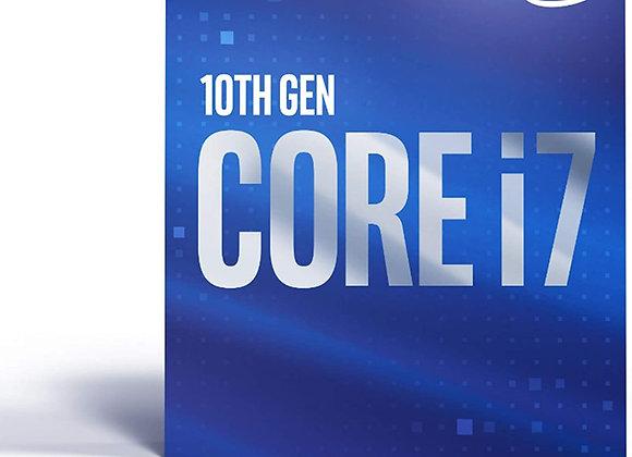 Intel Core i7-10700 Desktop Processor 8 Cores up to 4.8 GHz LGA 1200, Intel 400