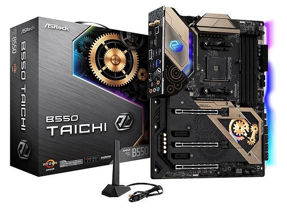 ASRock Motherboard B550 Taichi AMD AM4 Ryzen/future AMD Ryzen DDR4 128GB Atx