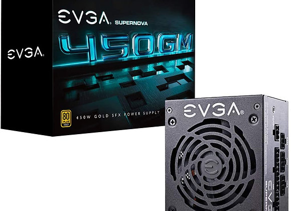 EVGA SuperNOVA 450 GM, 80 Plus Gold 450W, Fully Modular, ECO Mode with DBB Fan