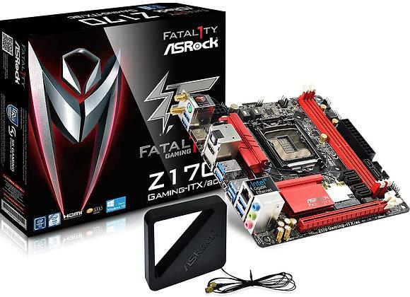 ASRock Mini ITX DDR4 Motherboard FATAL1TY Z170 Gaming-ITX/AC