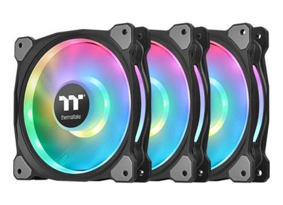 Thermaltake Fan Riing Duo 12 RGB Radiator Fan TT Premium 3-Fan