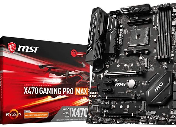 MSI Gaming Pro Max AMD X470 AM4 ATX DDR4-SDRAM Motherboard
