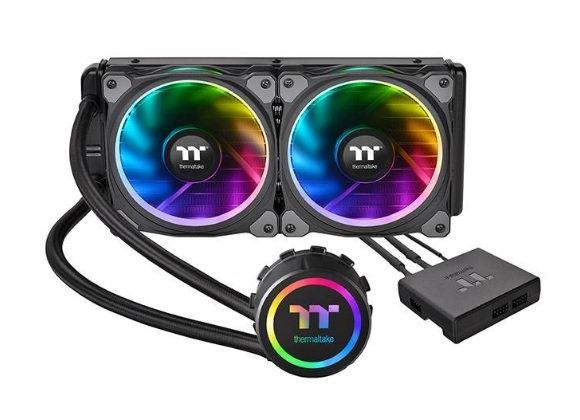 Thermaltake Fan CL-W157-PL12SW-A Floe Riing RGB 240 TT Premium Edition Retail