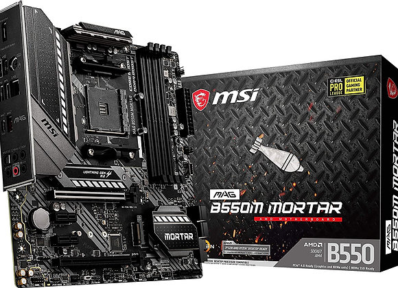 MSI B550M MAG Mortar AMD AM4 mATX Motherboard