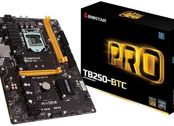 Biostar 198118 Tb250-btc Core I7/i5/i3 Lga1151 B250 Ddr4 Sata Motherboard
