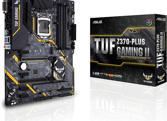 ASUS TUF Z370-Plus Gaming II LGA1151 (Intel 8th Gen) DDR4 HDMI DVI Motherboard