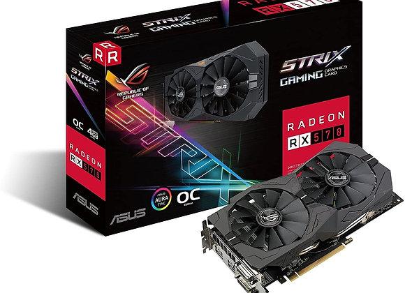 Asus ROG Strix Radeon Rx 570 O4G Gaming OC Edition GDDR5 DP HDMI DVI VR Ready