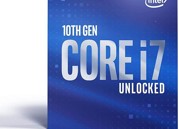 Intel Core i7-10700K Comet Lake 3.8GHz Eight-Core LGA 1200 Boxed Processor