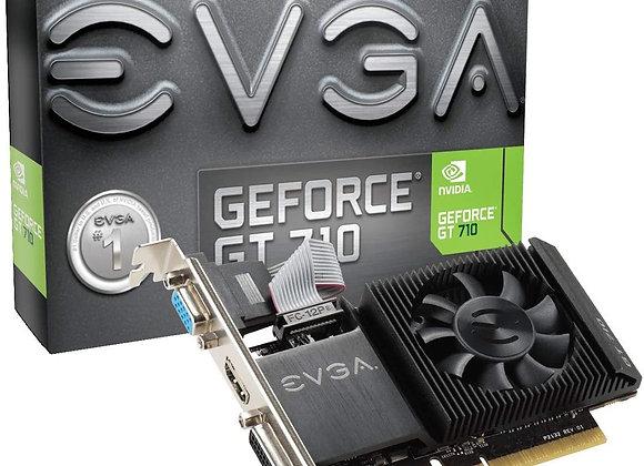 EVGA GT 710 1GB DDR3 64bit Single Slot, Low Profile 01G-P3-2711-KR