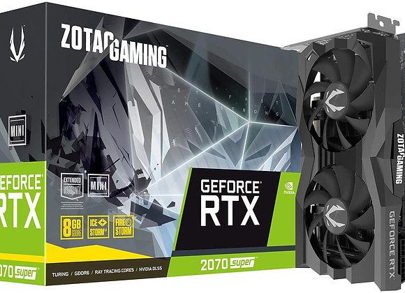 Zotac GeForce RTX 2070 Super Mini Duel-Fan 8GB GDDR6 PCIe 3.0 Graphics Card