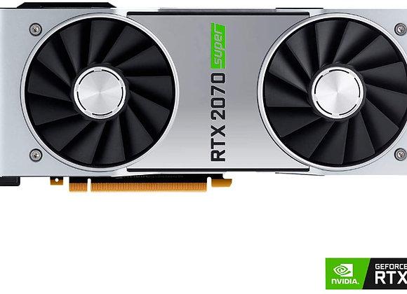 NVIDIA GeForce RTX 2070 Super 8GB GDDR6   3X DisplayPort, 1x HDMI 2.0