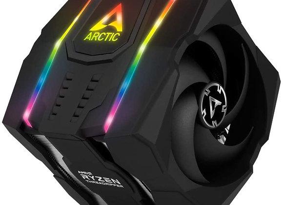 ARCTIC Freezer 50 TR (INCL. A-RGB Controller) - Dual Tower CPU Cooler for AMD