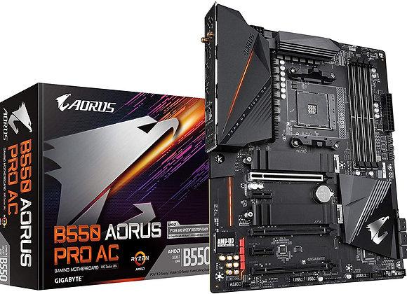 Gigabyte B550 Aorus Pro AC AMD AM4 ATX Motherboard