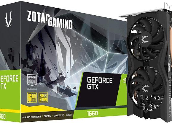 Zotac Gaming GeForce GTX 1660 6GB GDDR5 192-bit Gaming Graphics Card