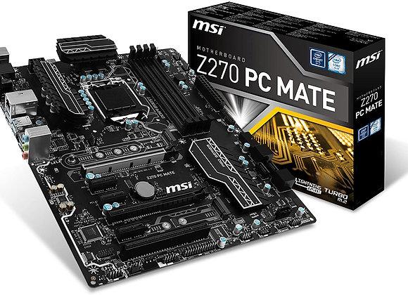 MSI Pro Series Intel Z270 DDR4 HDMI USB 3 CrossFire ATX Motherboard