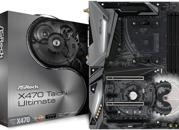 ASRock AMD X470 Chip Set Atx Motherboard X470 Taichi Ultimate
