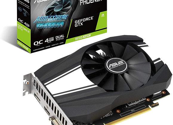 ASUS GeForce GTX 1650 Super Overclocked 4GB Phoenix Fan Edition HDMI DP DVI
