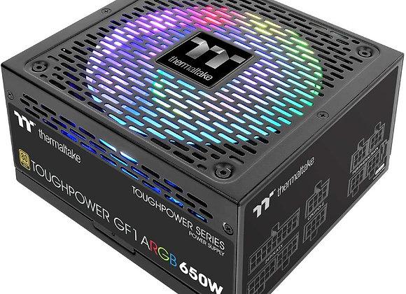 Thermaltake Toughpower GF1 ARGB 650W 80+ Gold 16.8 Million Colors 18 Addressable