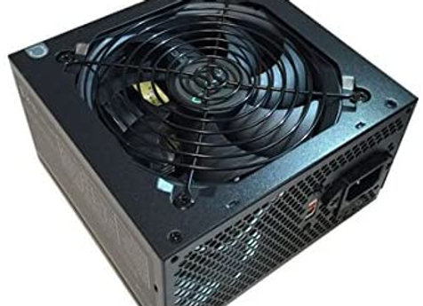 APEVIA 500W ATX Power Supply with Auto-Thermally Controlled 120mm Fan