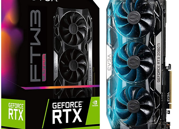 EVGA GeForce RTX 2080 Ti FTW3 Ultra Gaming Triple-Fan 11GB GDDR6 Graphics Card