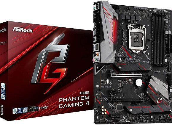 ASRock Motherboard B365 Phantom Gaming 4 Intel B365 S1151 DDR4 Atx