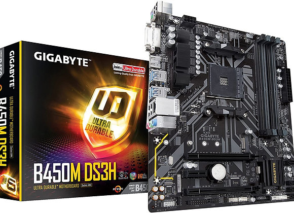 Gigabyte B450M DS3H AMD AM4 mATX Motherboard