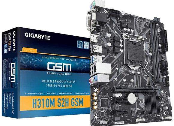Gigabyte Motherboard Intel Core i7/i5/i3 H310 DDR4 32GB Windows10 mAtx