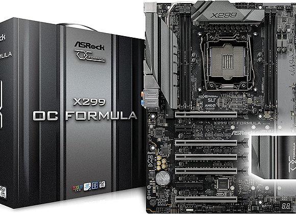 ASRock Intel X299 OC Formula 2066 Atx 4 DDR4 SLI/XFire Dual GB LAN RGB Lighting