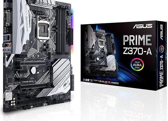 Asus Prime Z370-A LGA1151 DDR4 DP HDMI DVI M.2 USB 3.1 Z370 Atx Motherboard