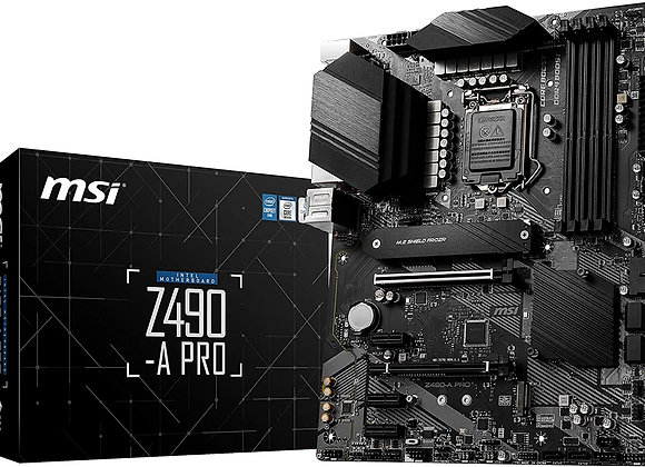MSI Z490-A Pro Intel LGA 1200 ATX Motherboard