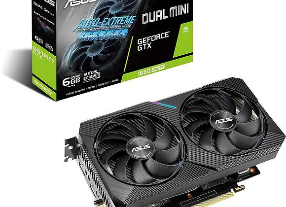ASUS Dual Mini GeForce GTX 1660 Super Overclocked Dual-Fan 6GB GDDR6 PCIe 3.0